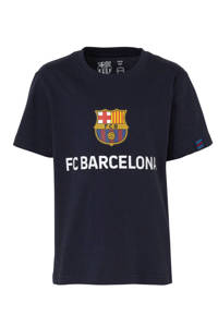 T-shirt FC Barcelona met printopdruk marine, Marine