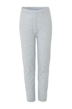 Spiderman pyjama grijs melange/rood