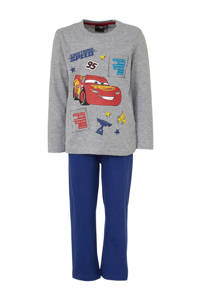 Cars pyjama grijs, Grijs melange