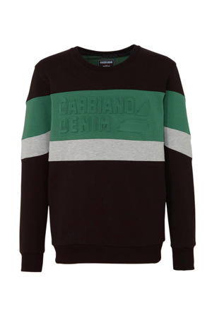 gemêleerde sweater black