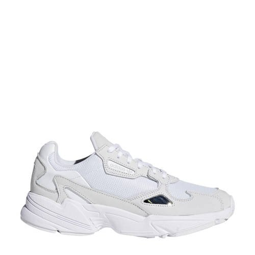 adidas originals Falcon sneakers wit