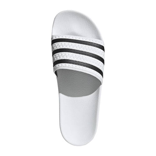 adidas originals-Slipper-Sandaal Stripy in wit