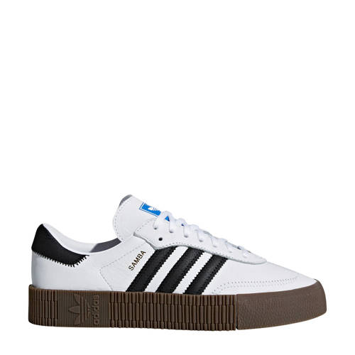 adidas Originals SAMBAROSE sneakers wit/zwart