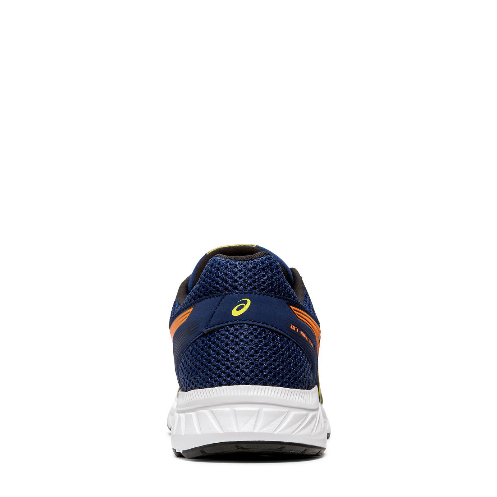 Gel contend 5 hardloopschoenen donkerblauw