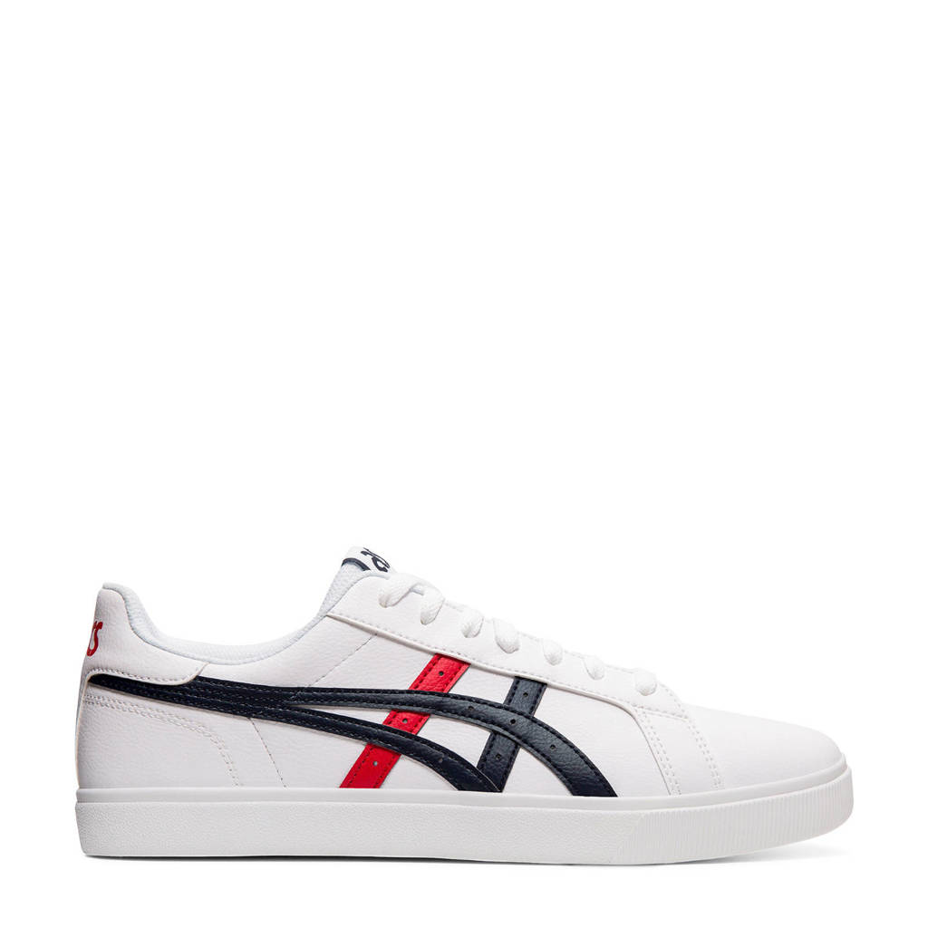 ASICS  Classic CT sneakers wit/rood/blauw, Wit/blauw/rood