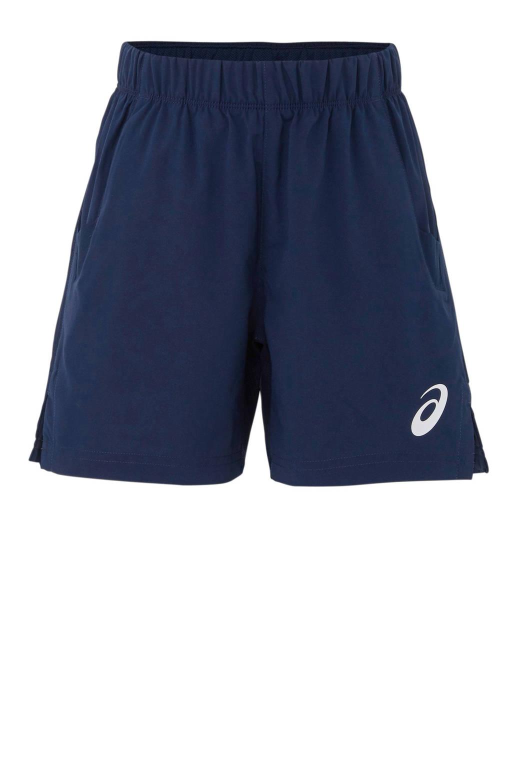 ASICS   sportshort donkerblauw, Donkerblauw