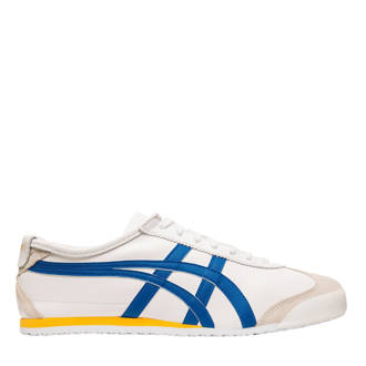 Mexico 66 sneakers wit/blauw