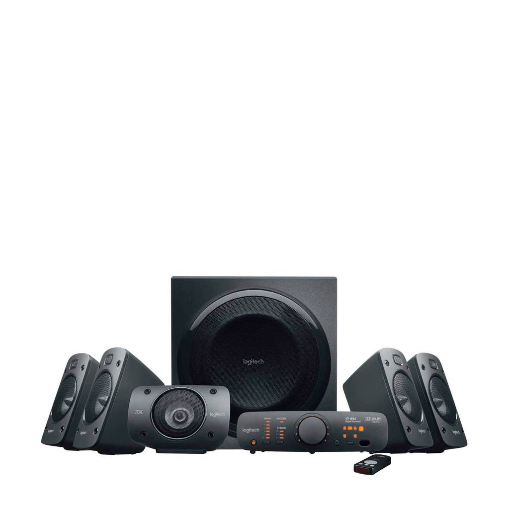Logitech  Surround Sound speaker systeem, Zwart