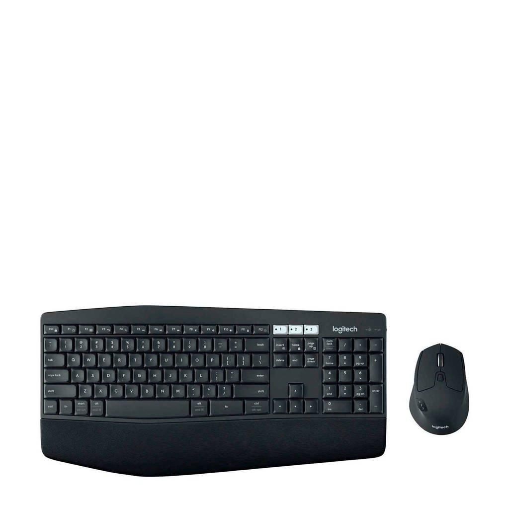 Logitech  draadloos toetsenbord + muis, Zwart