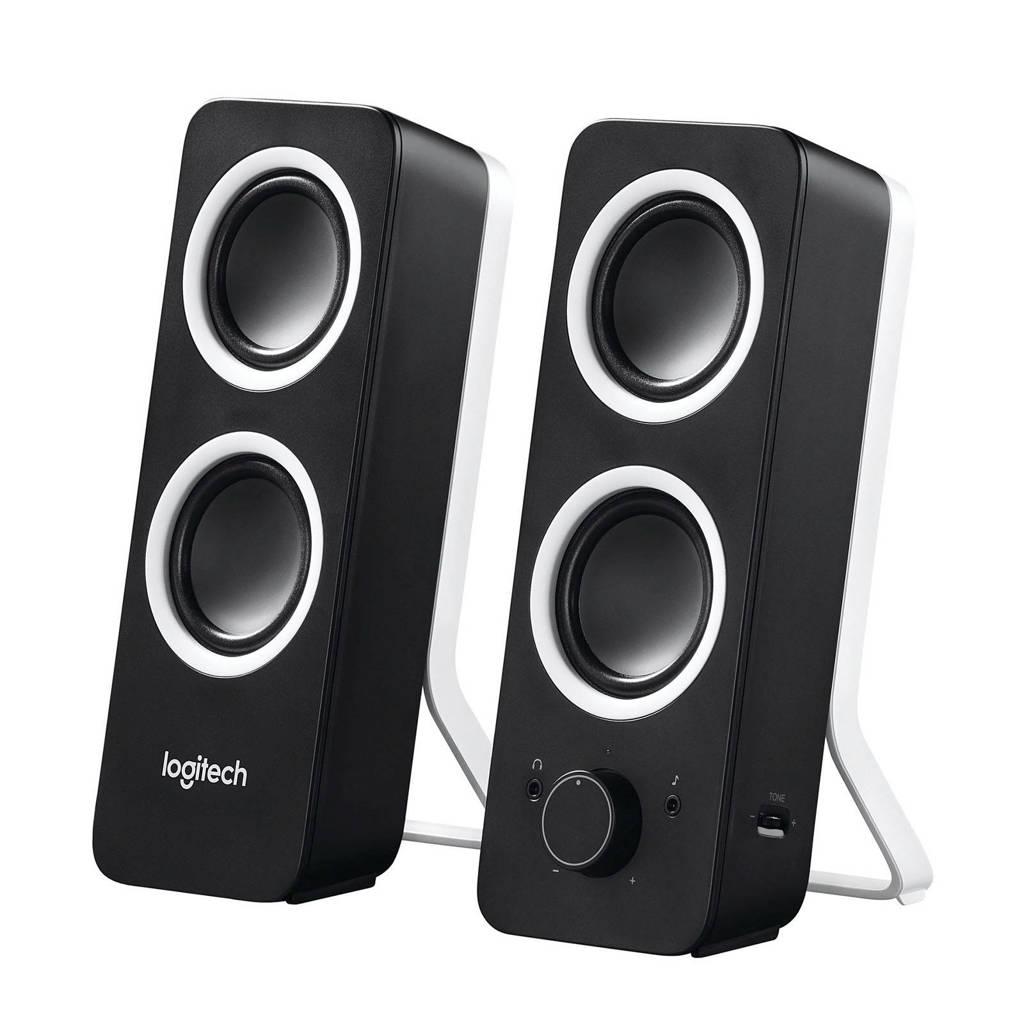 Logitech  Z200 multimedia speakers, Zwart