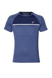 ASICS   hardloopshirt blauw, Blauw