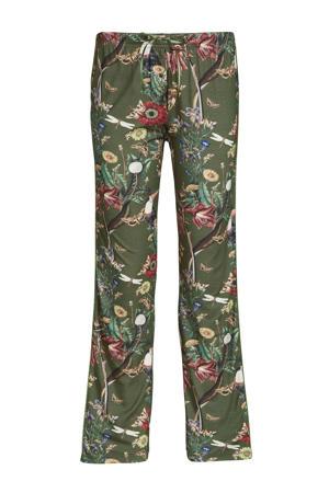 pyjamabroek Dine Airen groen