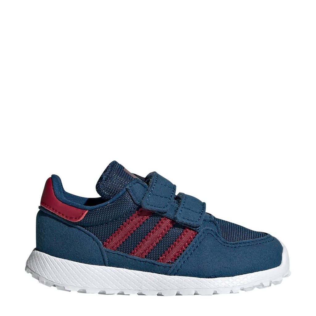 adidas Originals   Forest Grove CF I sneakers donkerblauw/rood, Donkerblauw/rood