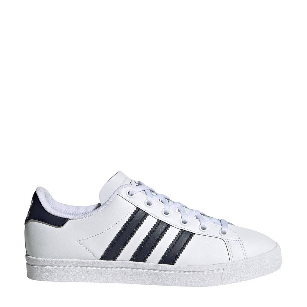 adidas Originals Coast Star J sneakers wit/donkerblauw, Wit/donkerblauw