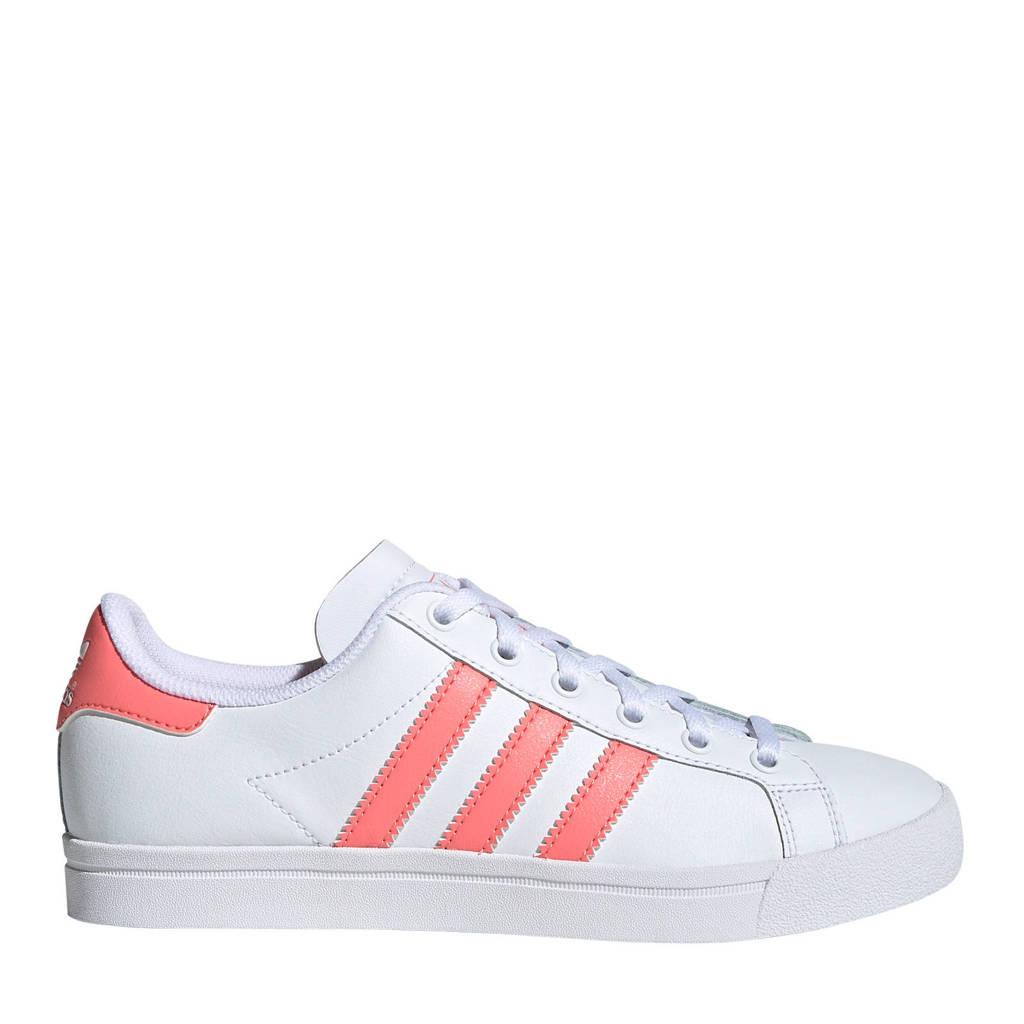 adidas Originals Coast Star J sneakers  wit/roze, Wit/roze