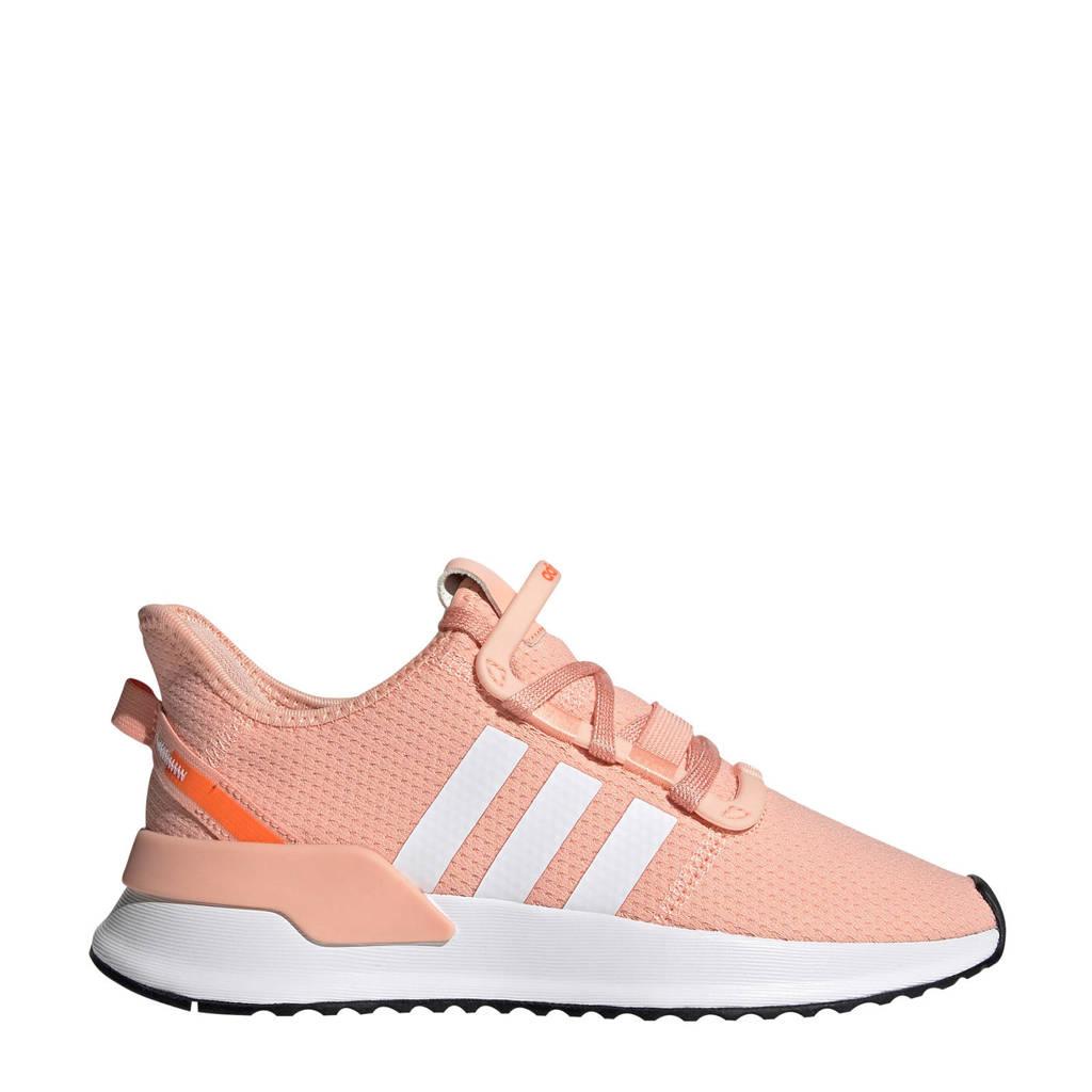 adidas Originals U_Path Run   sneakers lichtroze, zalmroze/wit