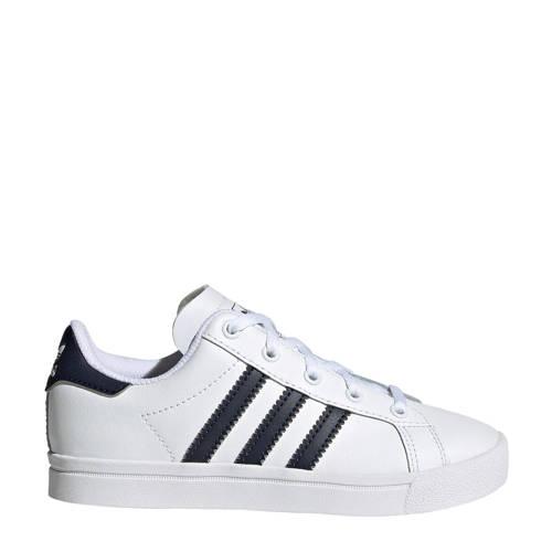 adidas originals Coast Star C sneakers wit-zwart