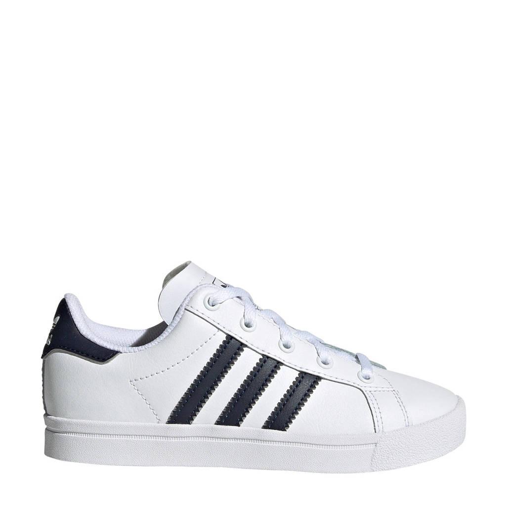 adidas Originals Coast Star J sneakers wit/blauw, Wit/blauw