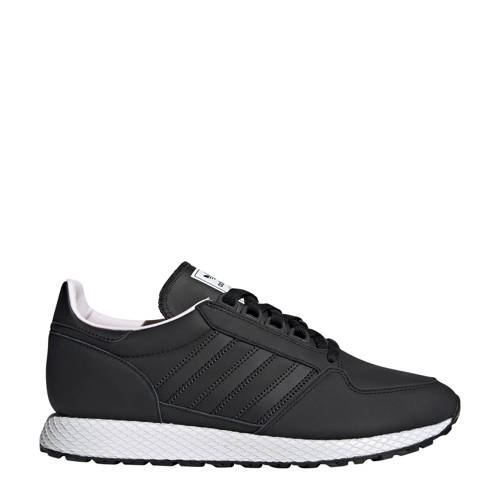 adidas originals Forest Grove leren sneakers zwart