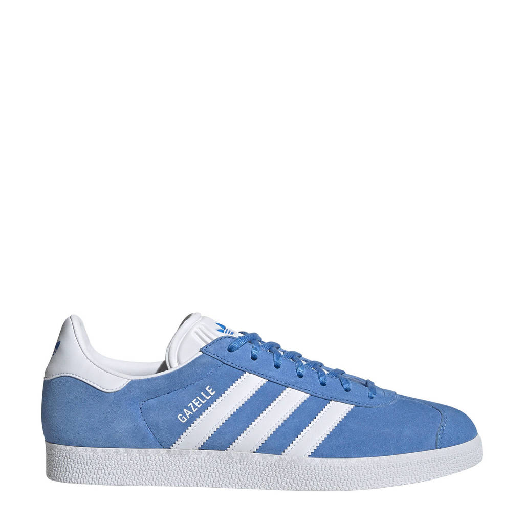 adidas Originals Gazelle  sneakers kobaltblauw/wit, Kobaltblauw/wit