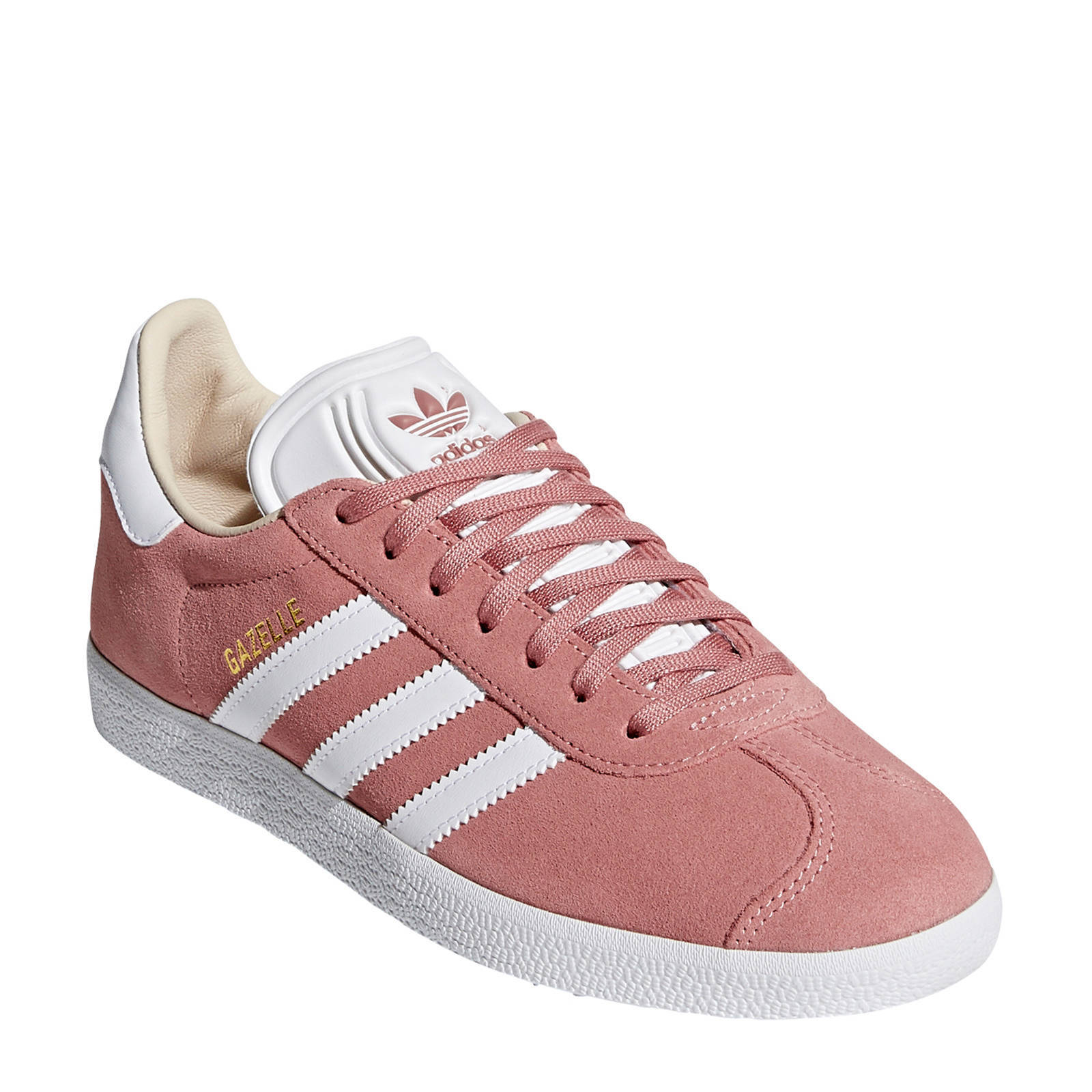 adidas Originals Gazelle sneakers oudroze/wit | wehkamp