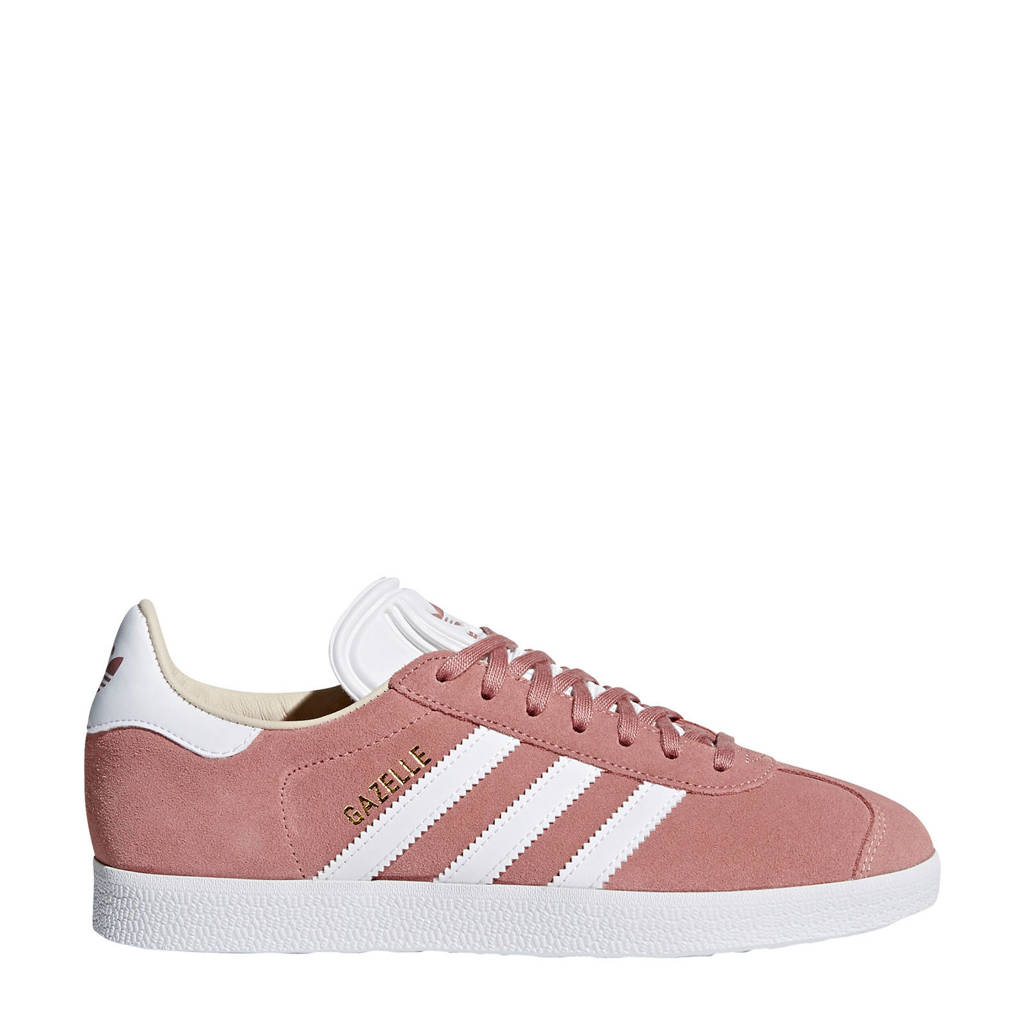 adidas originals Gazelle  sneakers oudroze/wit, Oudroze/wit