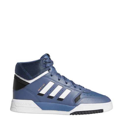 adidas originals Drop Step leren sneakers grijsblauw-wit