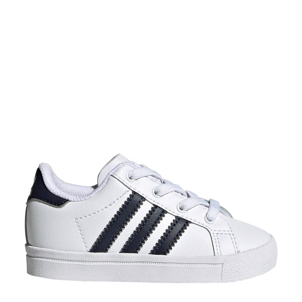 adidas Originals Coast Star J EL I sneakers wit/zwart, Wit/zwart