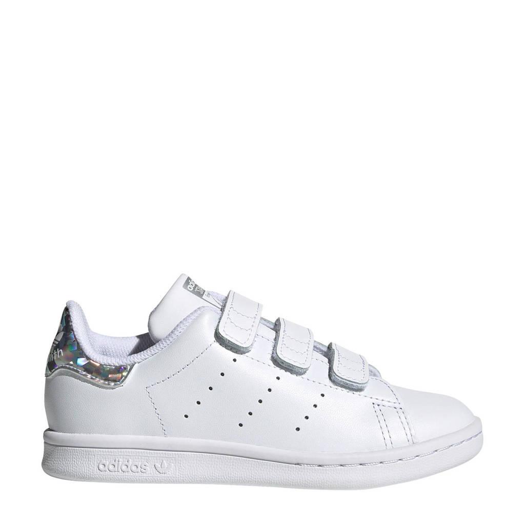 adidas Originals Stan Smith CF C leren sneakers wit/multi, Wit/multi