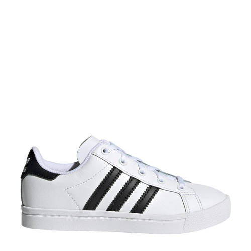 adidas originals Coast Star C sneakers wit-zwart