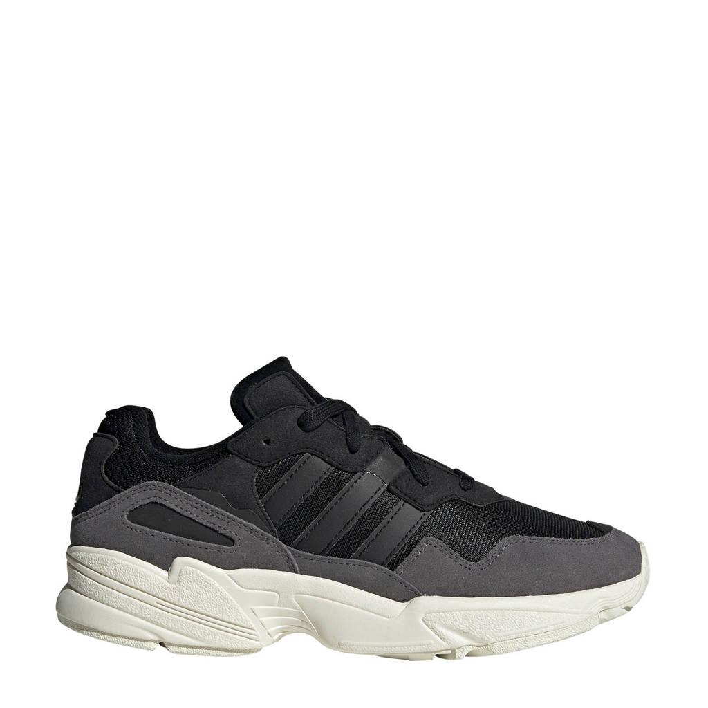 adidas originals  Yung-96 sneakers zwart/grijs, Zwart/grijs/wit