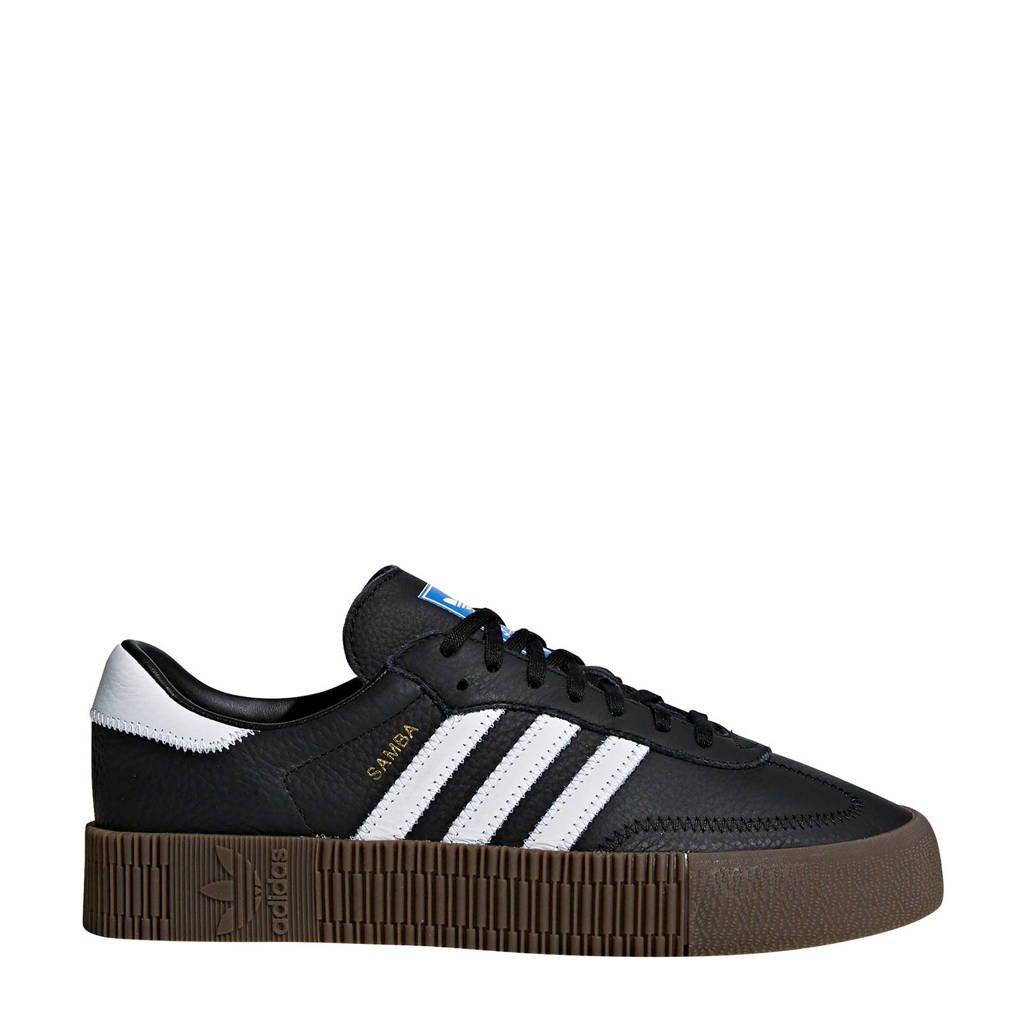 adidas Originals  SAMBAROSE sneakers zwart/wit, Zwart/wit