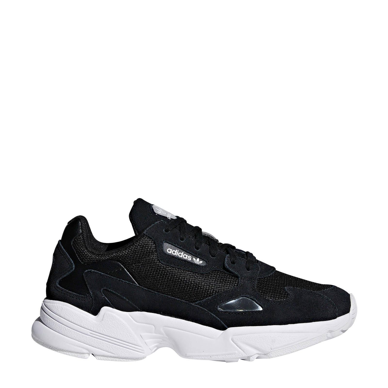 Falcon sneakers zwart/wit