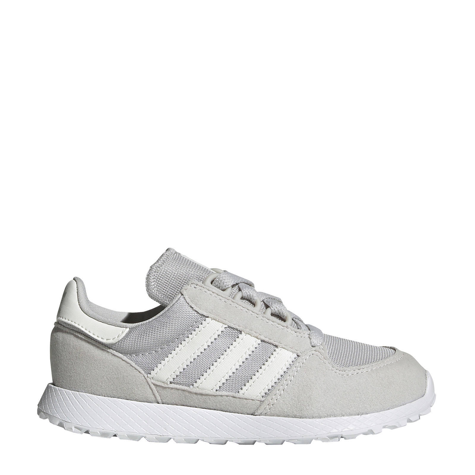 adidas Originals Forest Grove C suède sneakers grijswit
