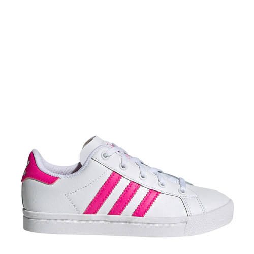 adidas originals Coast Star C sneakers wit-roze