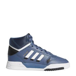 originals Drop Step  leren sneakers blauw/wit