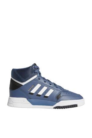 Drop Step  leren sneakers blauw/wit