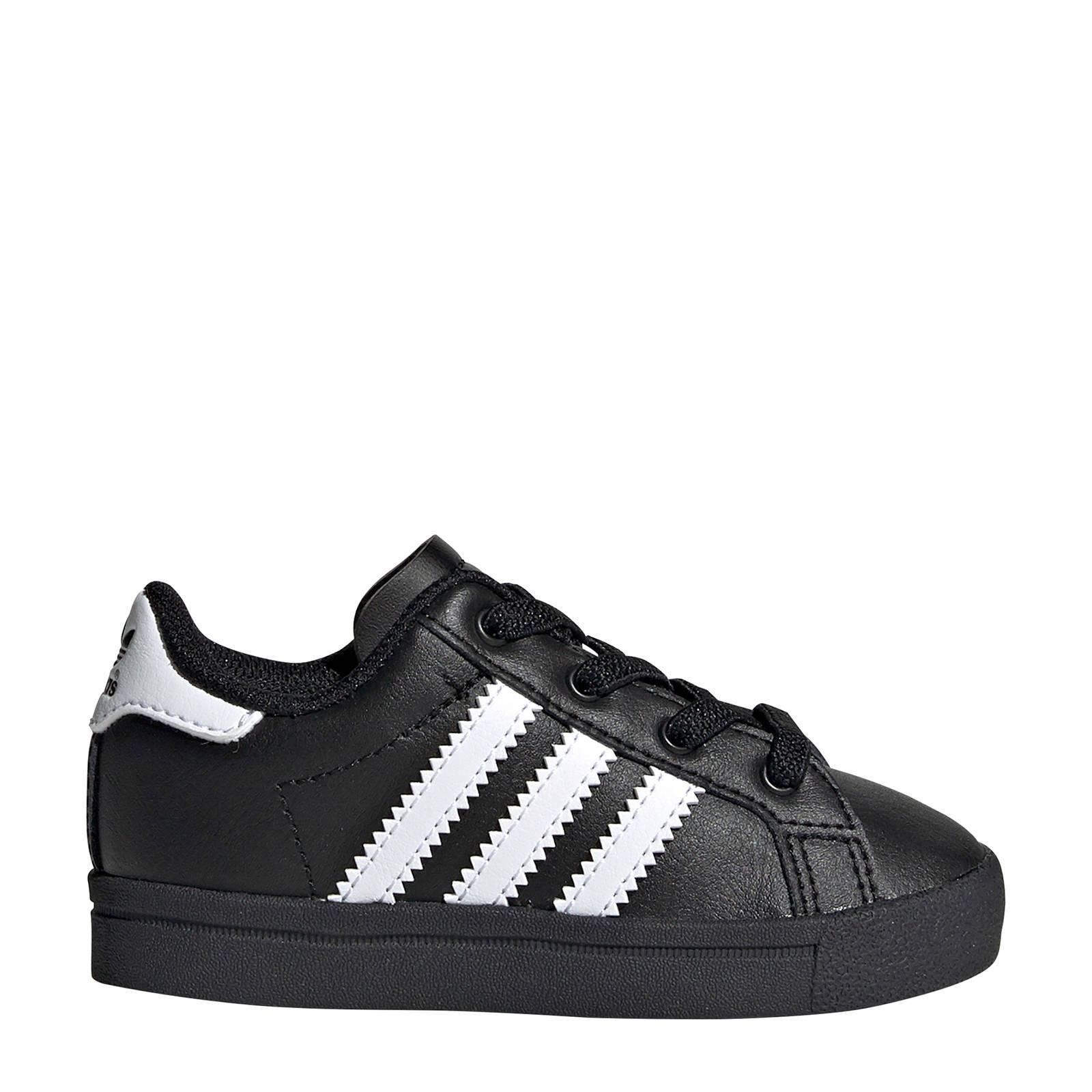 Coast Star J sneakers witzwart