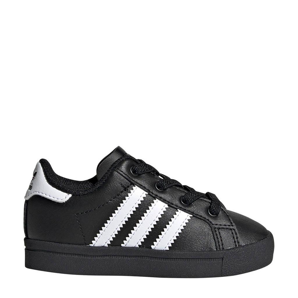 adidas Originals Coast Star J EL I Coast Star EL I sneakers zwart/wit, Zwart/wit