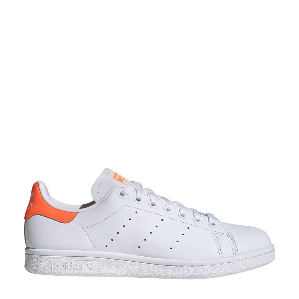 adidas Originals Stan Smith  leren sneakers wit/oranje, Wit/oranje