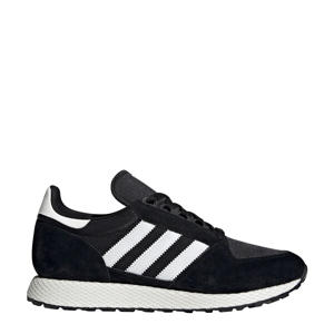 Forest Grove  suède sneakers zwart