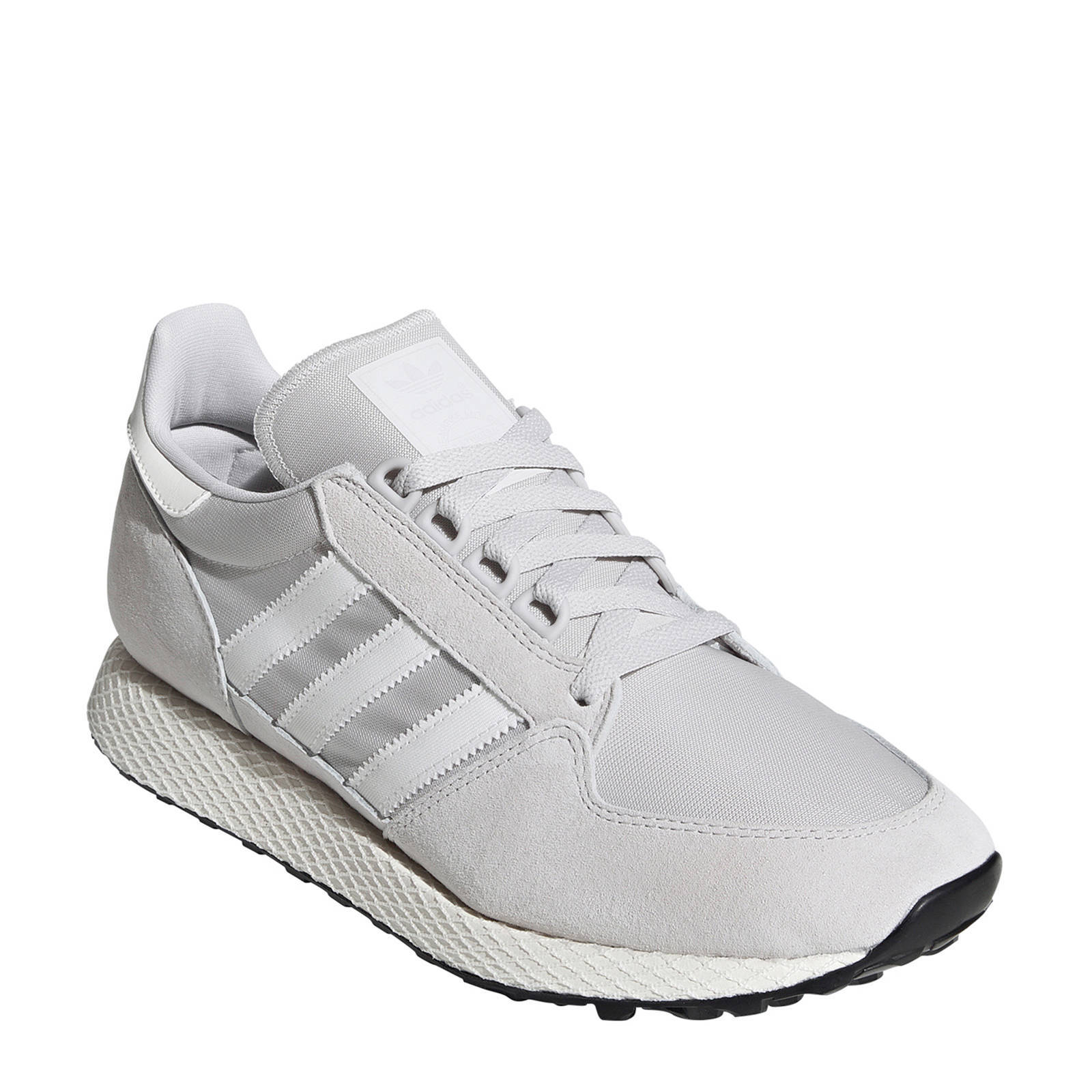 adidas Originals Forest Grove suède sneakers lichtgrijs