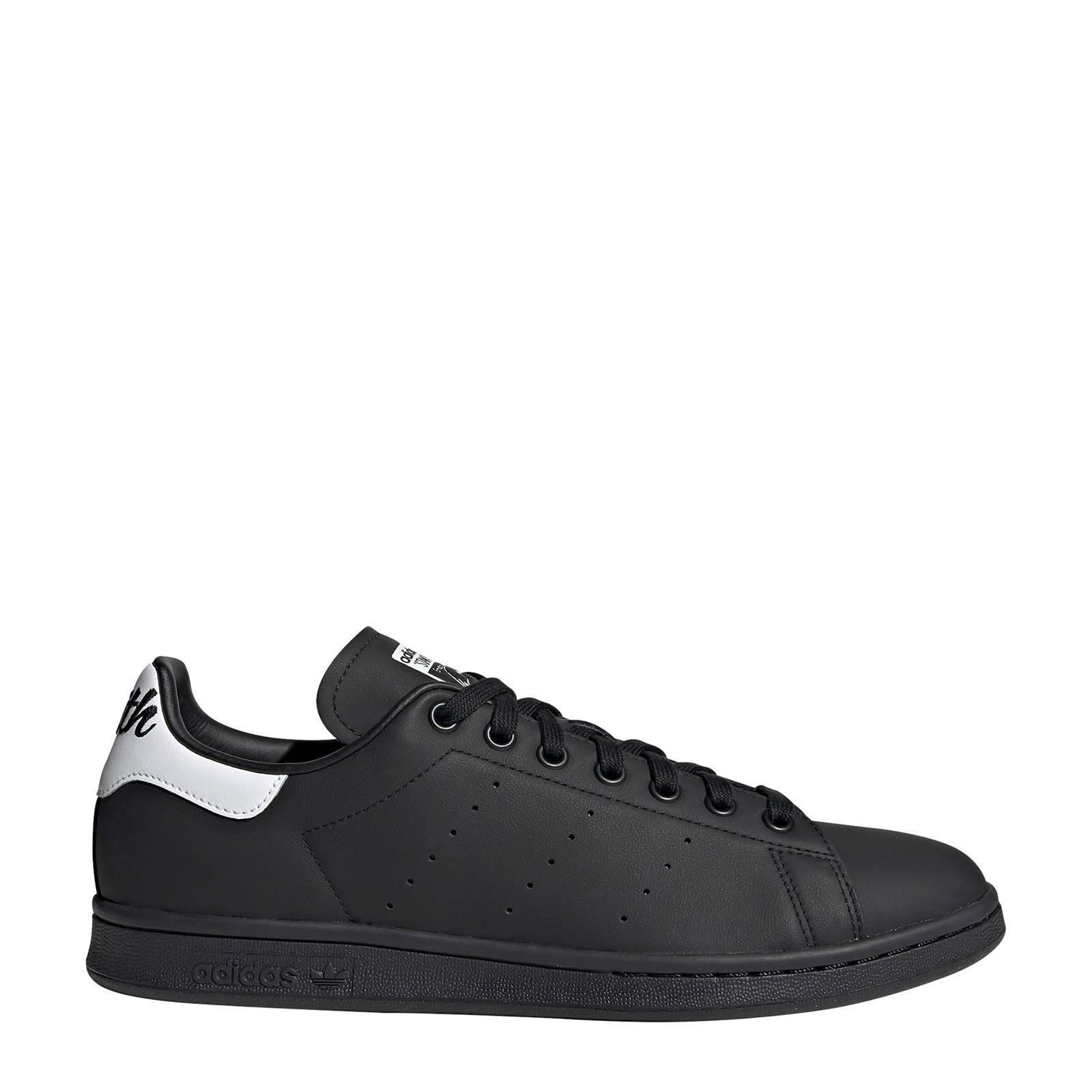 adidas originals Stan Smith sneakers zwart/wit   wehkamp