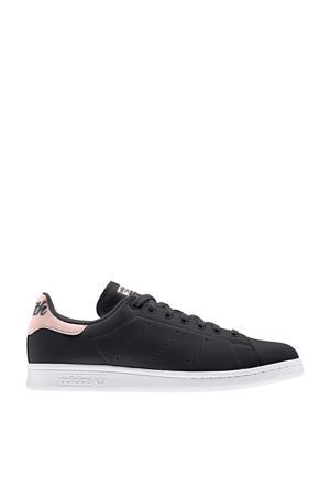 Stan Smith  leren sneakers zwart/roze