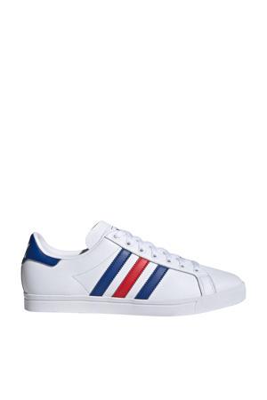 Coast Star J sneakers wit/rood/blauw