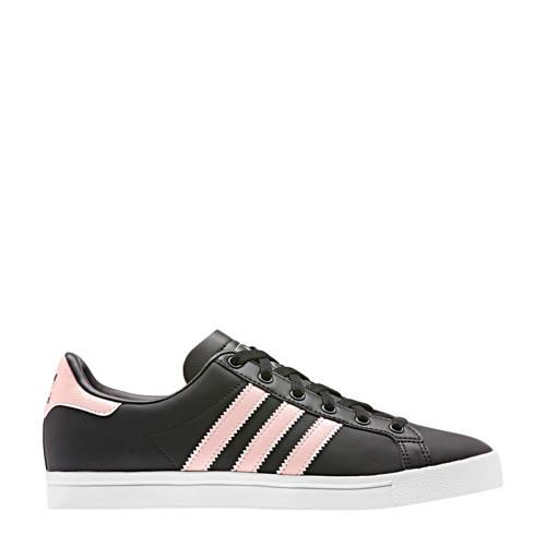 adidas Originals Coast Star J sneakers zwart/roze