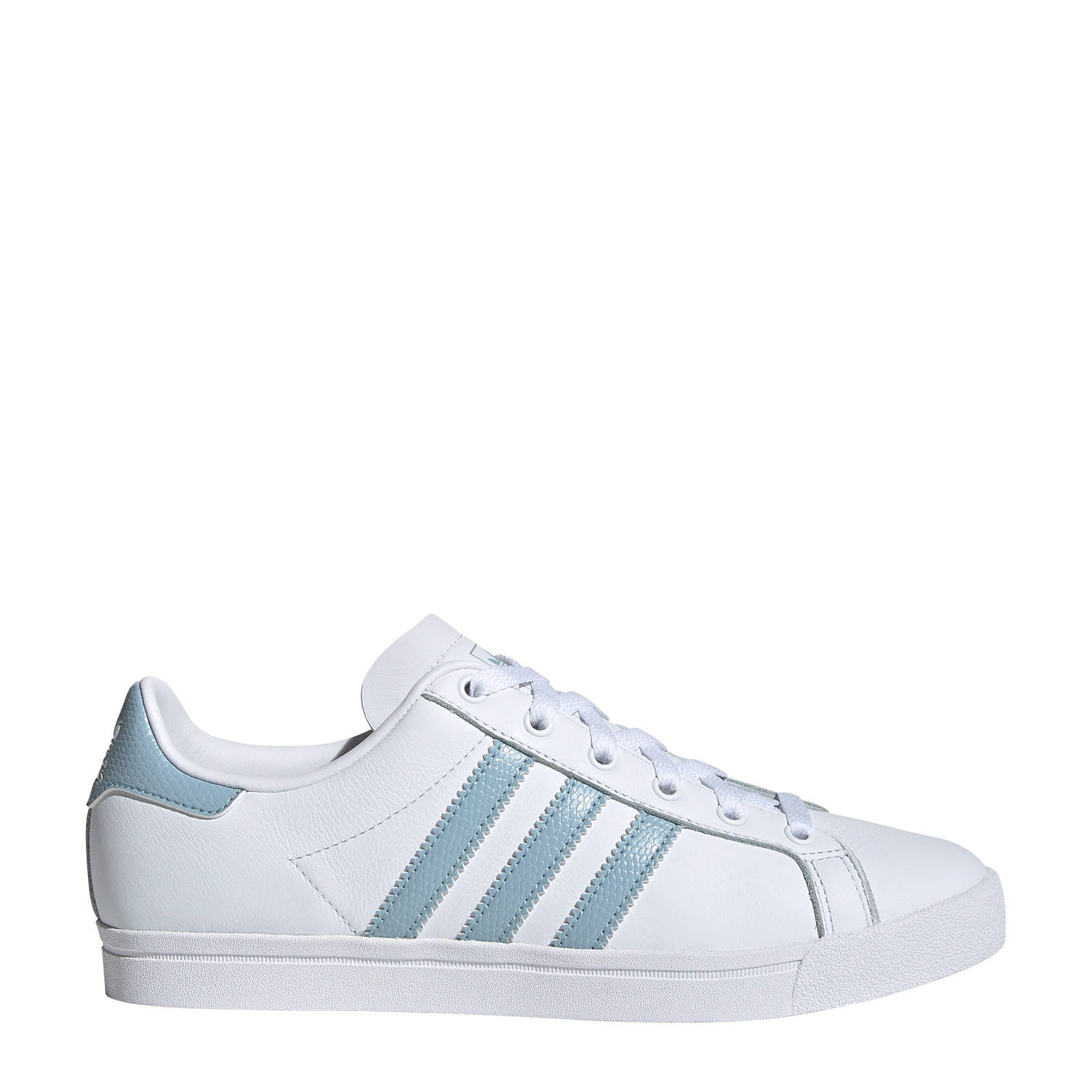 Coast Star J sneakers witmintgroen
