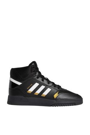 Drop Step  leren sneakers zwart/wit