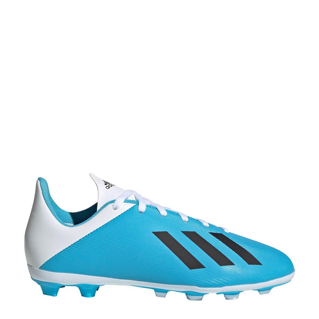 adidas  X 19.4 FxG X 19.4 FxG voetbalschoenen, Lichtblauw/wit/zwart