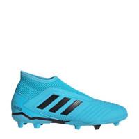 adidas  Predator 19.3 AG voetbalschoenen lichtblauw, Lichtblauw/zwart